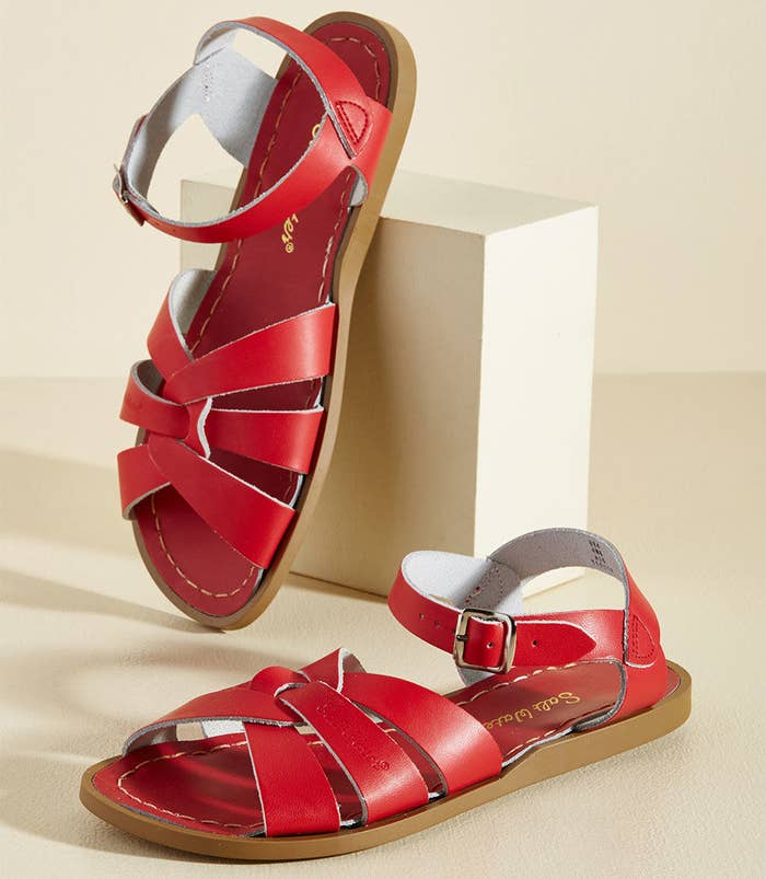 3f2ef1e3c7807d Leather sandals perfect for a walk in the park — or a walk anywhere