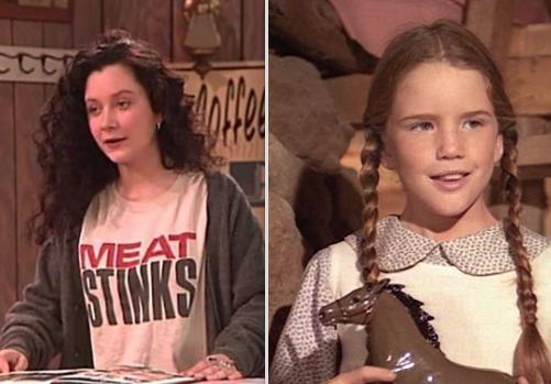 Sara Gilbert and Melissa Gilbert are sisters: