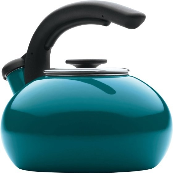 A quali-tea enamel tea kettle everyone will love.