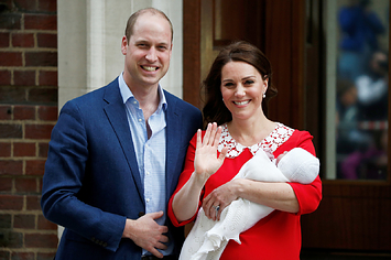 Here Are The First Pictures Of The New Royal Baby