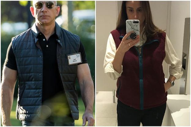I Wore A Fleece Vest To Work To See If I Felt Like A