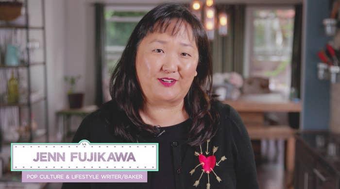 She creates a lot of recipes for StarWars.com and Nerdist.com. Nice!