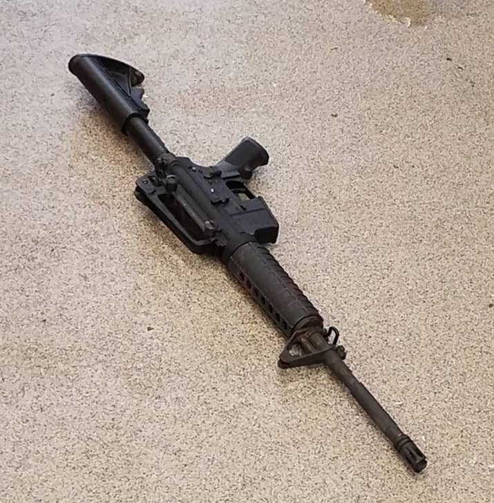AR-15 assault rifle used at the Waffle House.