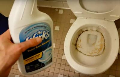 The Works toilet cleaner for results that are sure to bowl you over.