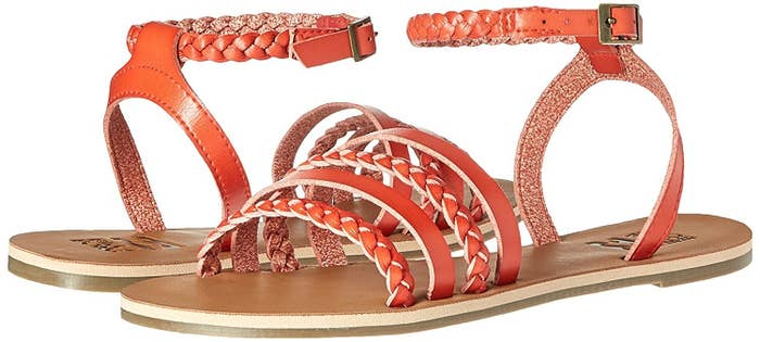 c7c38805de1a10 A pair of Billabong braided sandals to look chill as hell