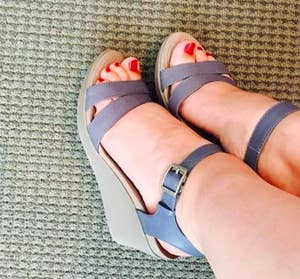 79e8f7e82f47 Crocs ankle-strap wedges — for the relief of Crocs with the cute look (and  height) of a heel...because while wedges are amazing