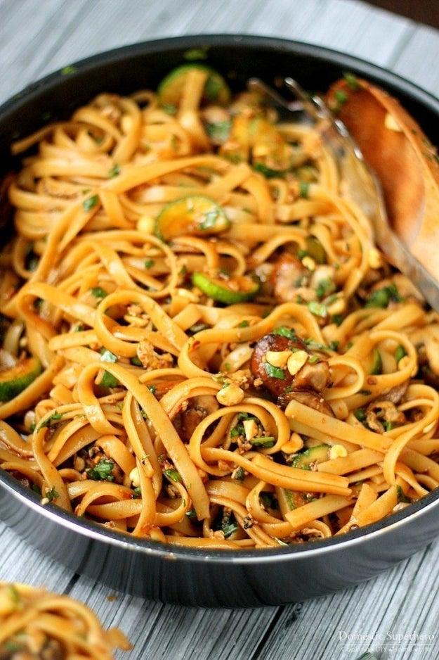 One-Pot Spicy Thai Noodles