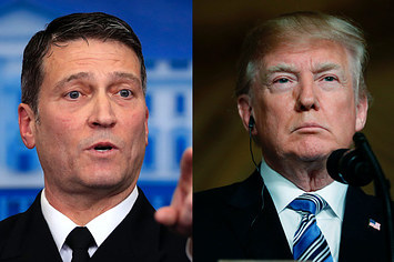 Trump Said That Ronny Jackson, His Nominee To Run Veterans Affairs, Should Drop Out