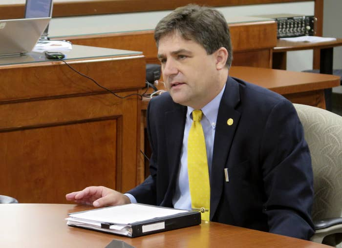 Michigan state Sen. Patrick Colbeck in 2016.