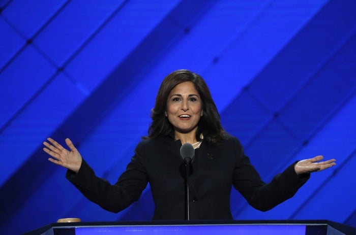 Center for American Progress Action Fund President Neera Tanden at the 2016 Democratic National Convention.