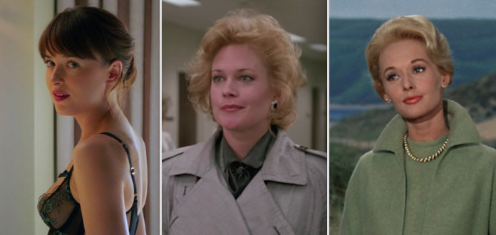 Dakota Johnson's  mom  is Melanie Griffith, and her  grandmother  is Tippi Hedren: -  You definitely know Dakota from the  Fifty Shades  series. Her mom, Melanie Griffith, is an Oscar nominee for  Working Girl , the iconic '80s flick.