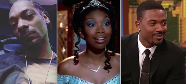 Snoop Dogg is cousins with Brandy and Ray J: