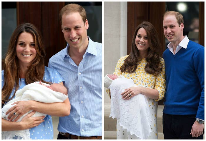 Back in 2013, Kate gave birth to Prince George and in 2015 Princess Charlotte was born.