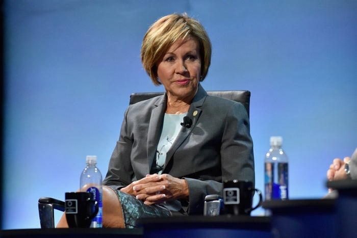 San Antonio city manager Sheryl Sculley in 2016.