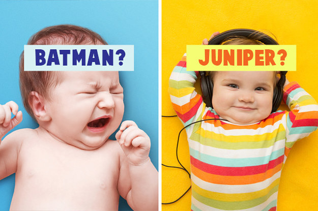 This Test Will Reveal What You Should Actually Name Your Baby