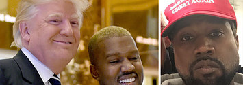 Kanye Tweeted Love For Trump And Wore A MAGA Hat. Trump Called Him Cool. It's Only Wednesday.