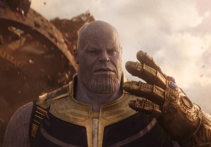 Thanos (Josh Brolin) in Avengers: Infinity War.