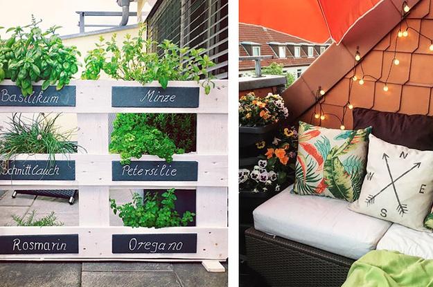 19 Wunderschone Balkon Ideen Fur Den Sommer Deines Lebens