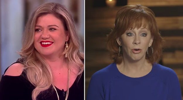Kelly Clarkson's mother-in-law is Reba McEntire:
