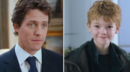 Hugh Grant and Thomas Brodie-Sangster are cousins: