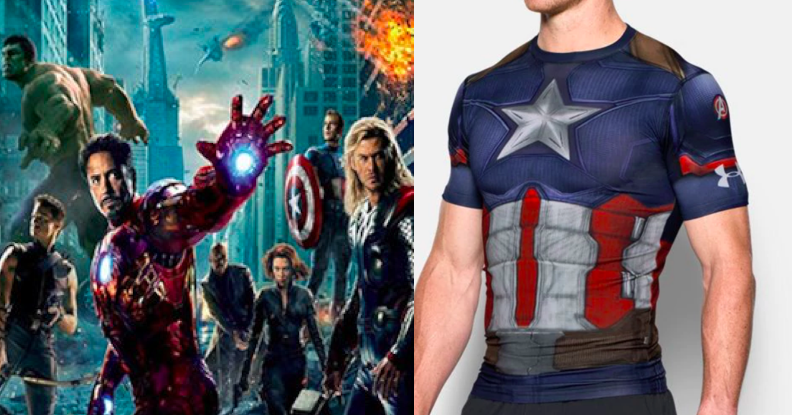 3a483816010 Under Armour Has An Avengers Collection And Now You'll Be Able To Look Like  An IRL Superhero