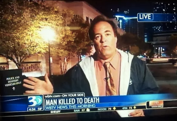A man who got killed to death: