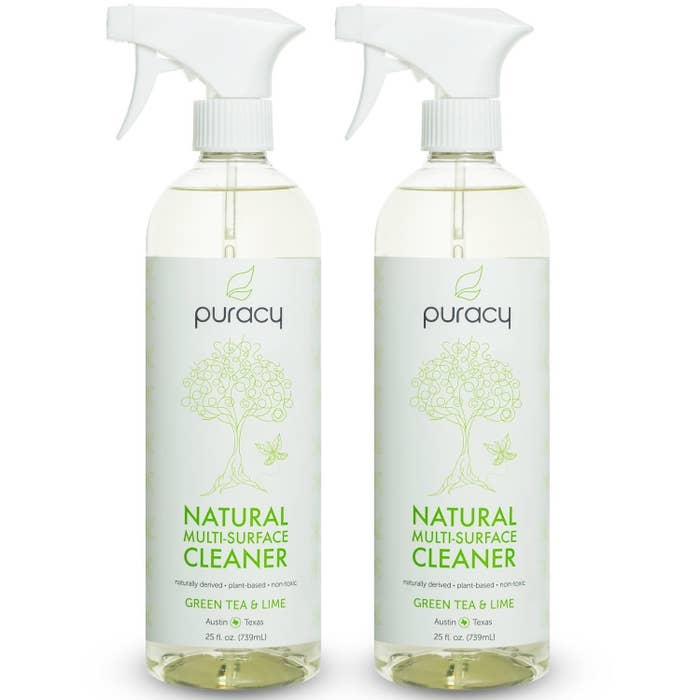 """Promising review: """"This stuff is excellent. I just used it to clean my entire house and it performed very well on everything from tile, glass, stainless steel, chrome, wood, laminate, computer monitors, TVs, metal, plastic, baseboards, walls — you name it, it cleaned it. It has a very pleasant smell that's mild and disappears within minutes. For the size/amount you get it's a great price for an all-natural product."""" —KatelynGet a pack of two from Amazon for $13.99 or one from Walmart for $6.99."""