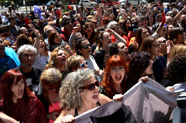 Protests Erupt After Five Men Were Found Not Guilty Of A Gang Rape In Spain
