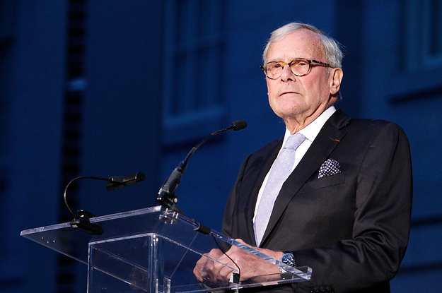 Tom Brokaw Has Been Accused Of Trying To Forcibly Kiss Younger NBC Colleague