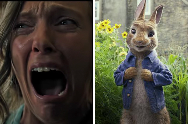"""Parents Fled A Cinema With Their Kids After A Horror Movie Trailer Played Before A """"Peter Rabbit""""..."""
