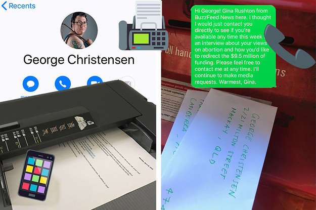 ​I Tried Talking To George Christensen About...