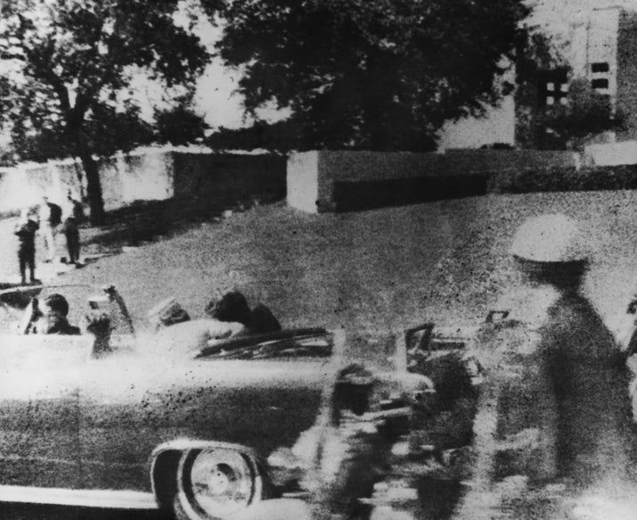 President John F. Kennedy was assassinated in 1963.