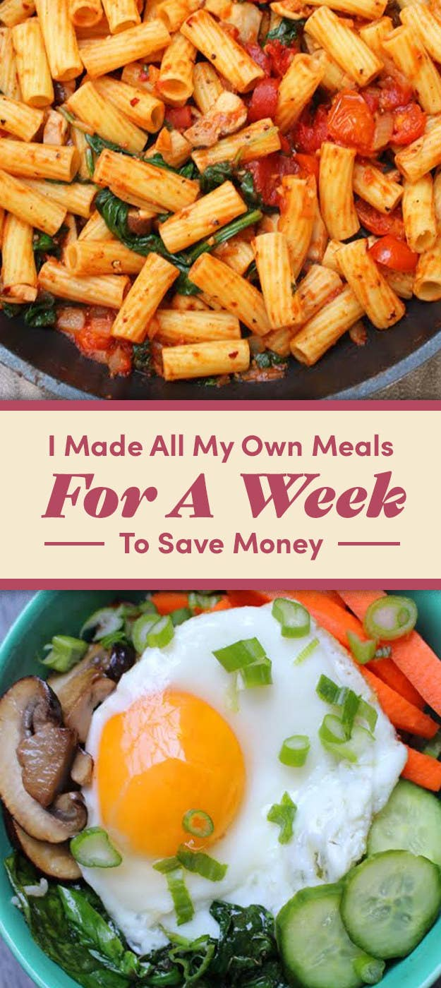 Here S What Happened When I Tried Cooking At Home All Week On A Budget