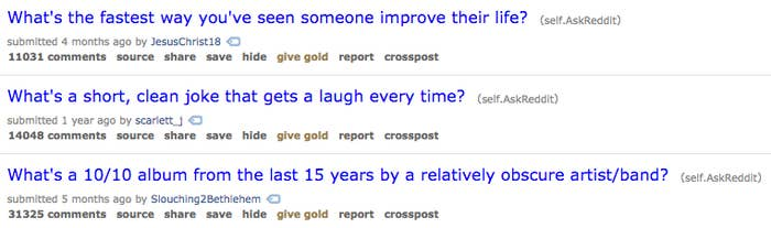 16 Of The Most Helpful Subreddits You Should Look At Regularly