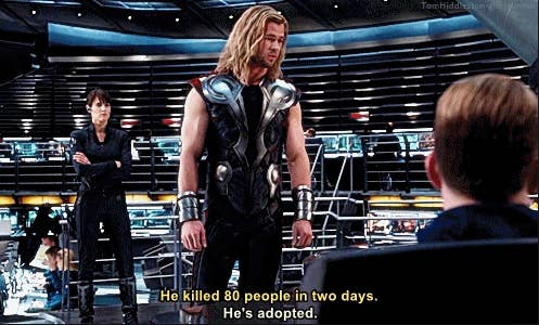Here's Why That Funny Line Thor Had In