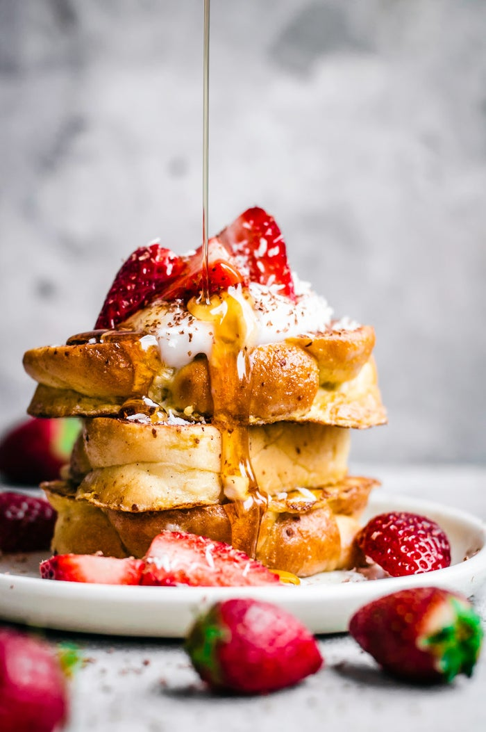 Fancy AND easy. Count us in. Bring on the berries and maple syrup. Get the recipe.