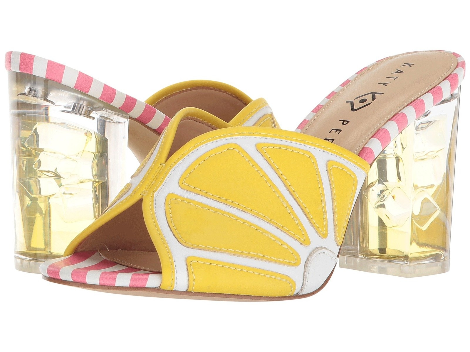 2867e1ec26ac2c 4. Katy Perry lemonade platform sandals or mule sandals just begging to be  featured on your Instagram!