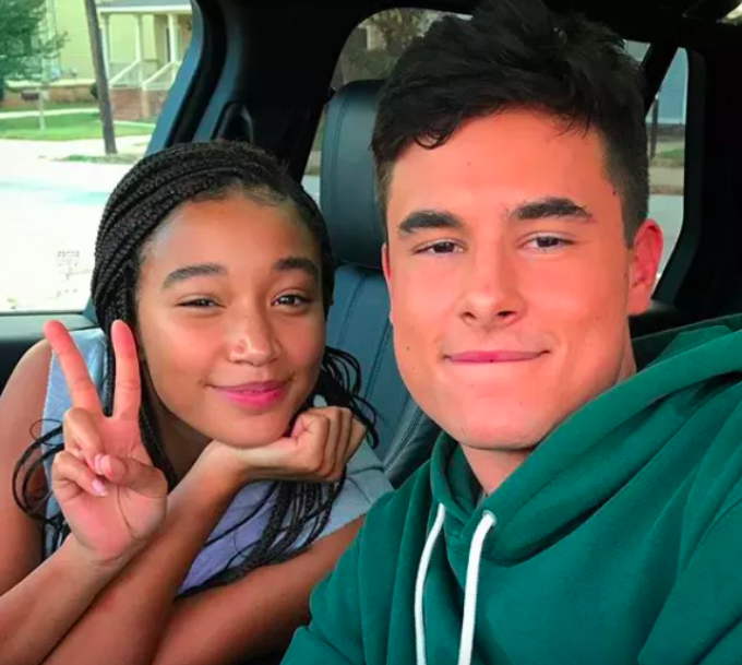 """""""Due to the controversy surrounding his past comments and behavior, Kian Lawley will no longer appear in The Hate U Give,"""" a spokesperson for 20th Century Fox said in a statement to BuzzFeed News in February. """"The studio plans to recast the role of Chris and reshoot scenes as needed."""" In a statement to BuzzFeed News at the time, Lawley said: """"Words have power and can do damage. I own mine and I am sorry. I respect Fox's decision to recast this role for The Hate U Give as it is an important story, and it would not be appropriate for me to be involved considering the actions of my past.""""A source also confirmed to BuzzFeed News that CAA talent agency parted ways with Lawley in light of the video."""