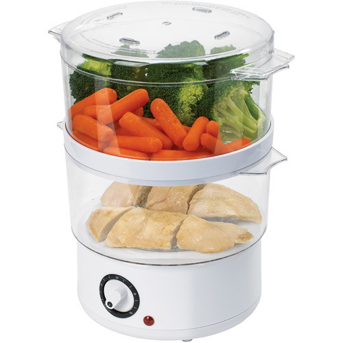 A steamer that makes healthy fish, poultry, shellfish, veggies (and even dumplings!) in no time flat.