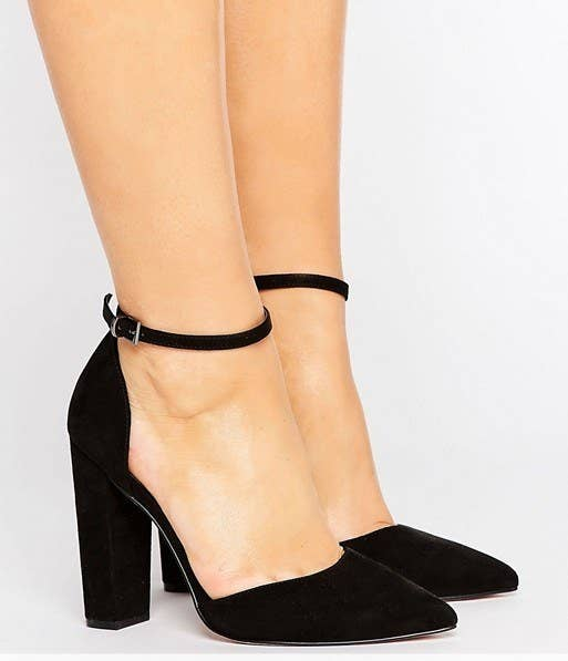 Asos Wide-Fit Pointed High Heels