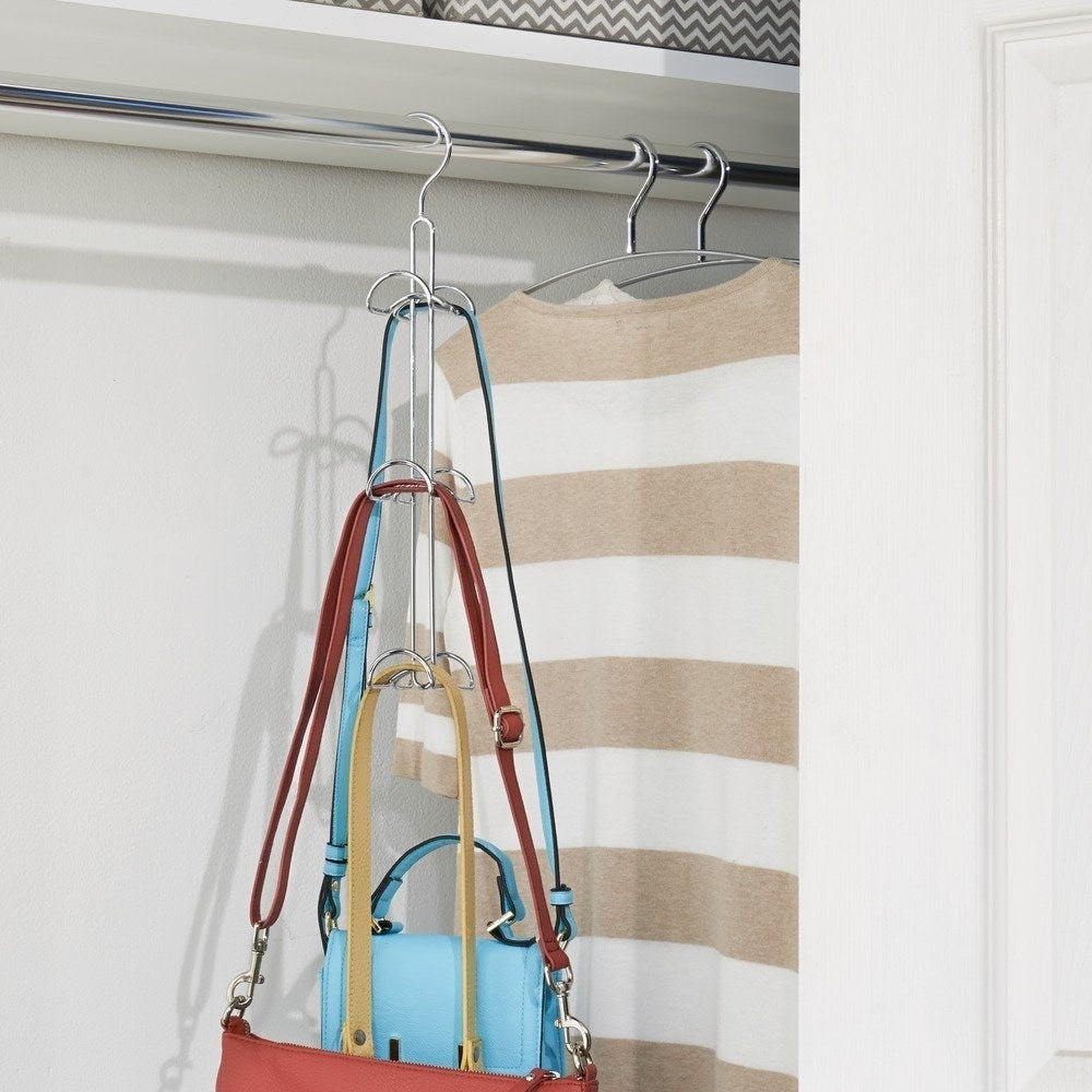 tiered hooks for bags