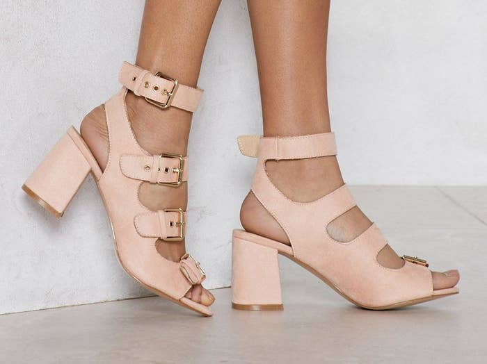 Get them from Nasty Gal for $36 (also in black, sizes 5–10).