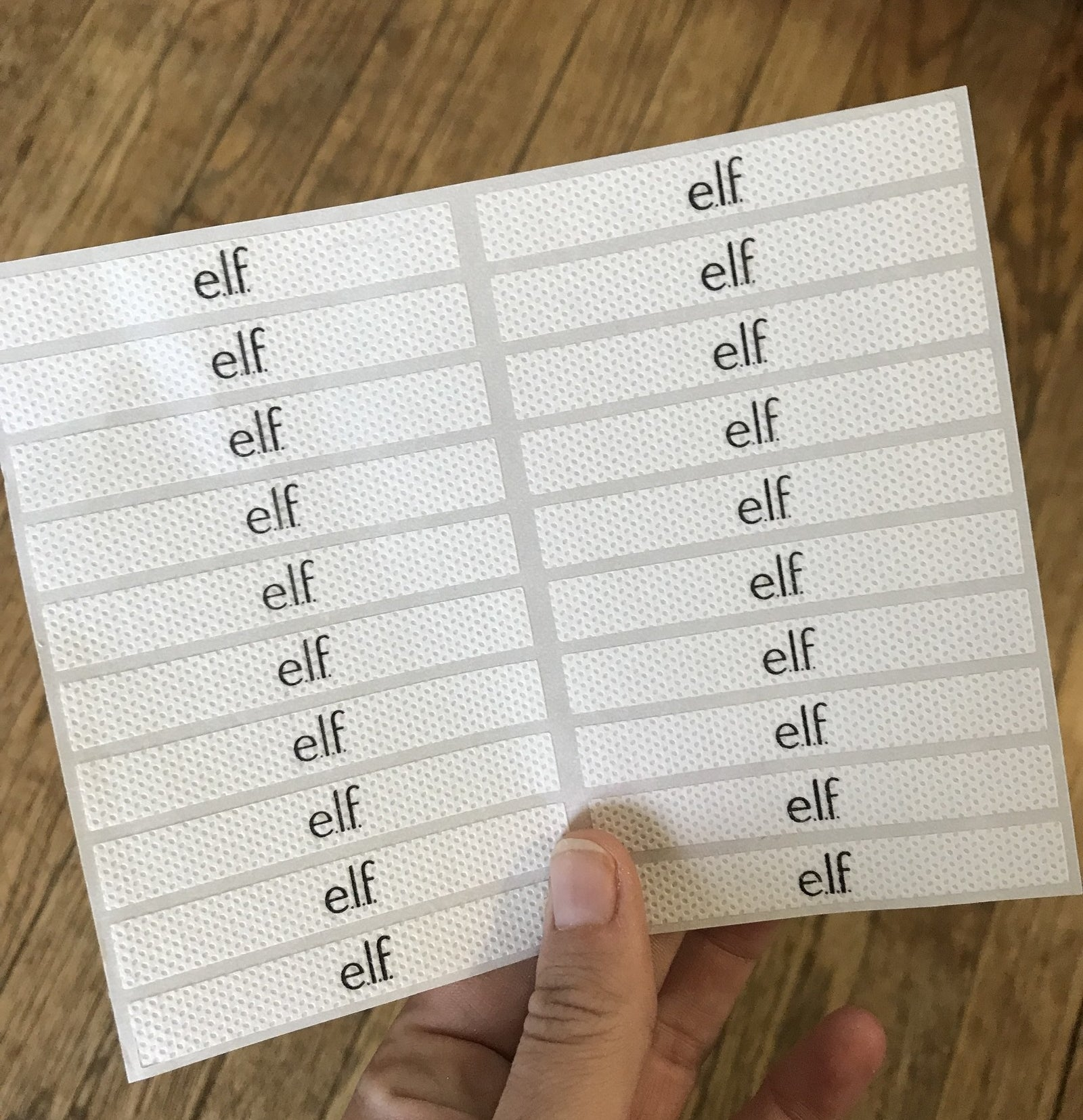 The e.l.f. Line and Define tape may sound unnecessary, but it costs only $2, making it cheaper than actual Scotch tape.