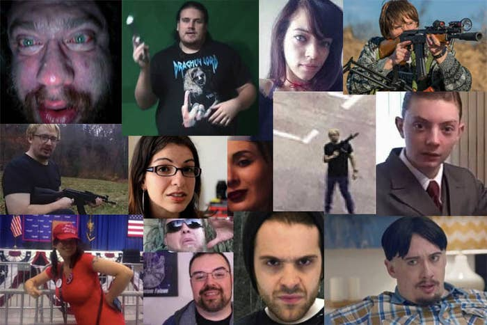 A sampling of individuals (incorrectly) accused on Twitter of being the YouTube shooter.