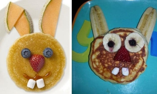 And this realistic pancake: