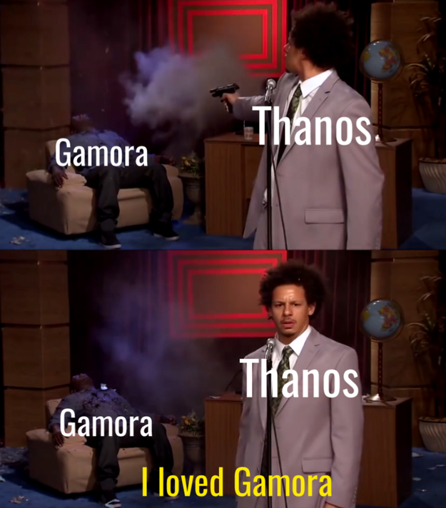 Thanos just being a fucking dick.