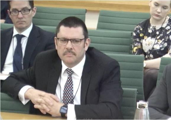 Jon Thompson, permanent secretary of HM Revenue and Customs