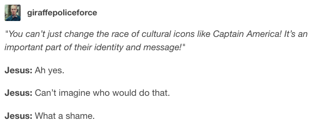 On identity: