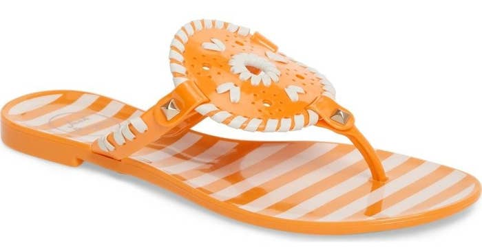 89e58c6e0 Jack Rogers jelly flip flops that ll create a fun  pattern  this season of  actually be willing to go outside.