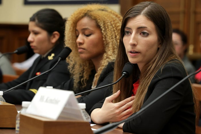 Former US Military Academy cadet Stephanie Gross told the House Armed Services Committee last week that she was raped twice after enrolling at the military academy in 2013.